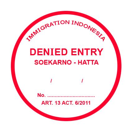 cetak stiker bulat imigrasi
