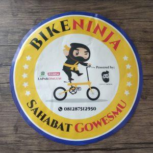 cetak stiker bike ninja besar