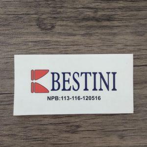 cetak stiker bestini