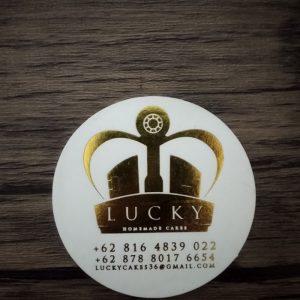 cetak stiker lucky
